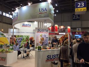 image of SUSTA pavilion at Fruit Logistica in Berlin 2017