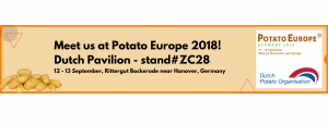 image of Holland pavilion at Potato Europe, Germany 2018