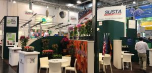 image of SUSTA pavilion at IPM Essen, 2019