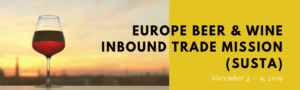 plaatje bij Europe Beer & Wine Inbound Trade Mission (SUSTA)